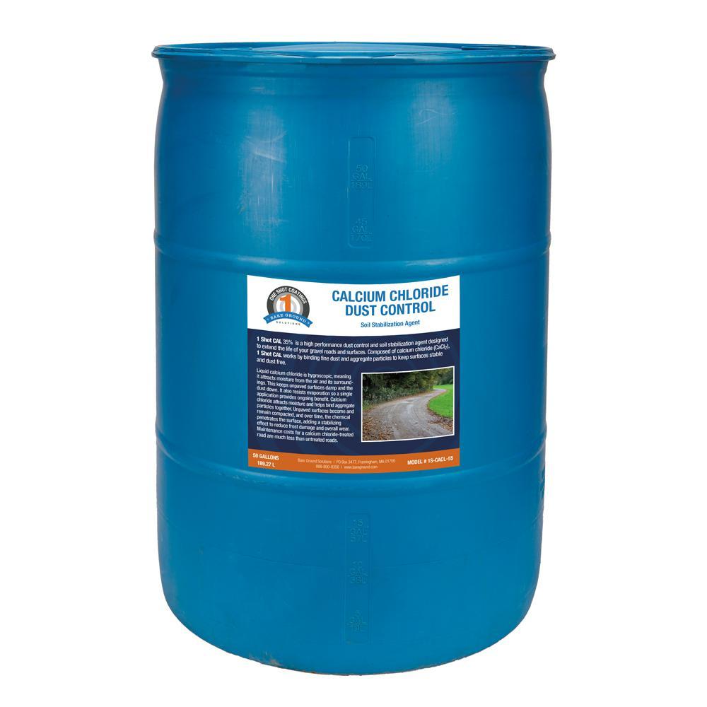 55 Gal. Drum of Calcium Chloride Liquid for Dust Control
