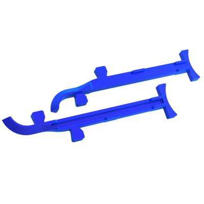6 in. to 8 in. Cast Aluminum Mason Line Stretchers (Pair)