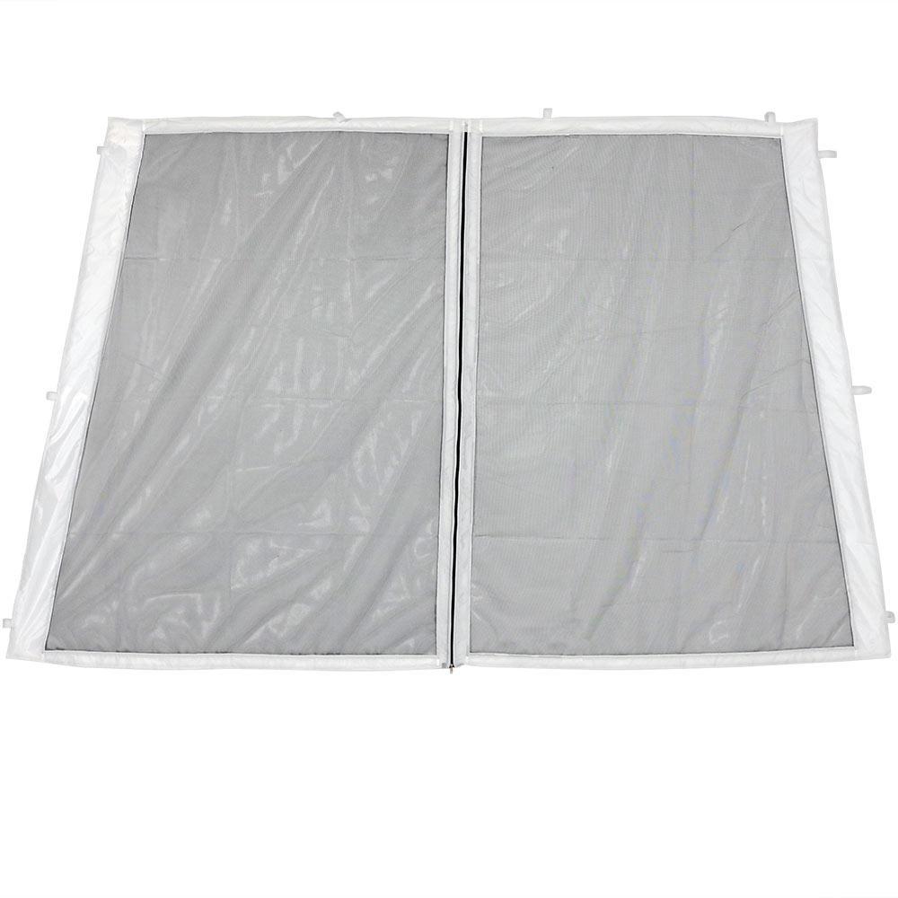 Zippered Mesh Sidewall Panel for 8 ft. x 8 ft. Slant Leg Canopy