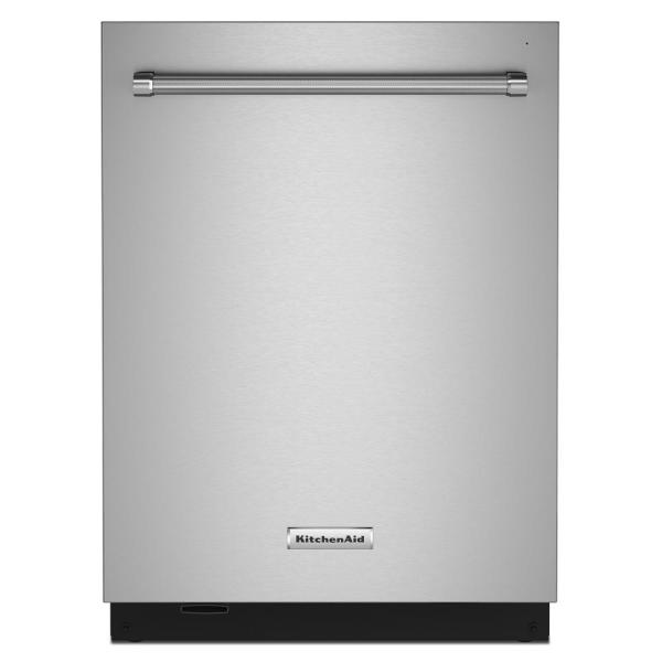 24 in. Top Control Built-in Tall Tub Dishwasher in PrintShield Stainless with Stainless Steel Tub and Third Level Rack
