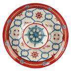 Coastal Life Multi-Colored 14 in. Chip and Dip