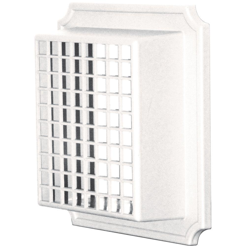 Builders Edge Exhaust Vent Small Animal Guard #001-White