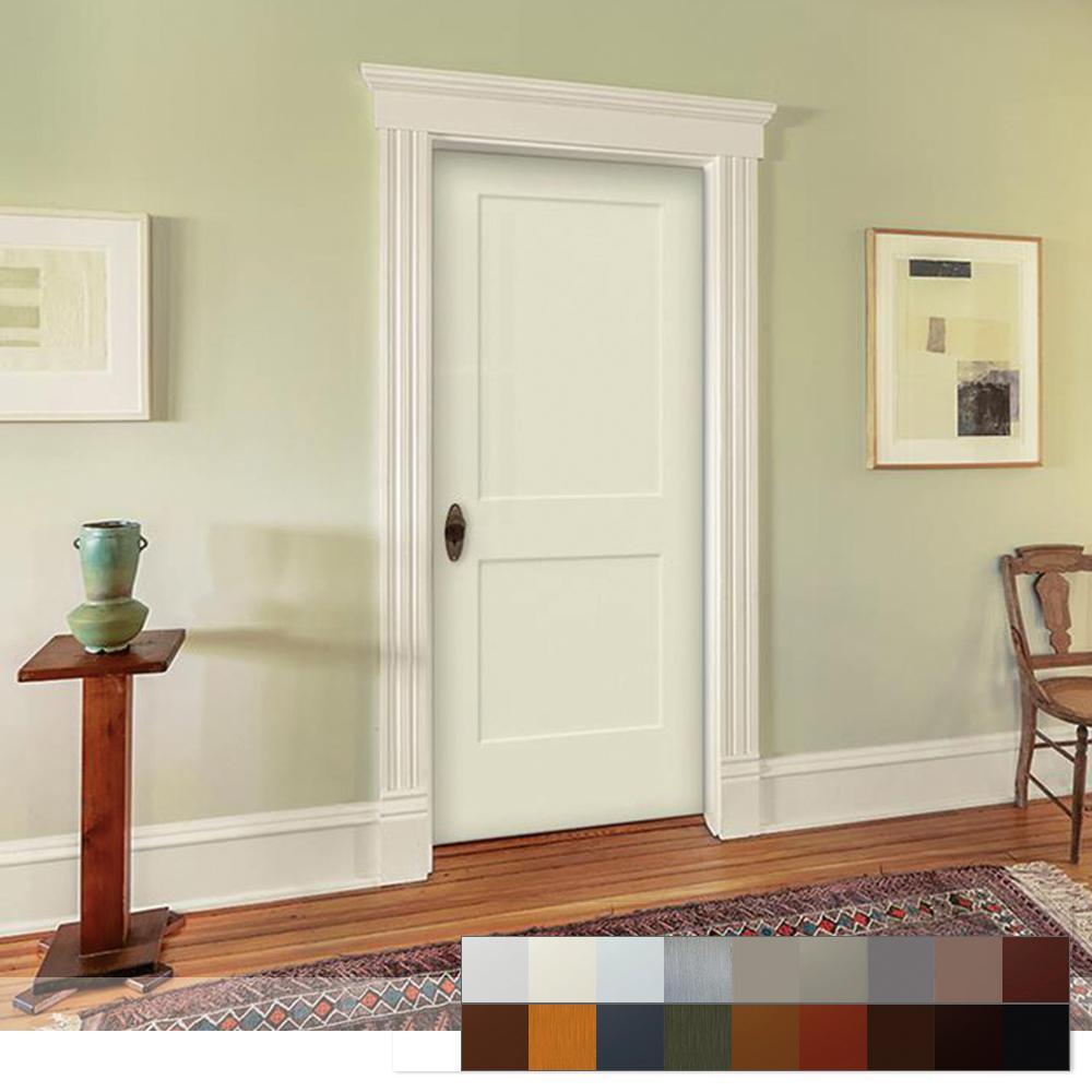 Monroe Collection Slab Interior Door