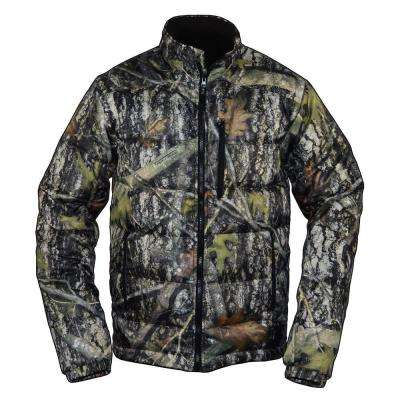 Men's Large Camouflage SuperLite Down Jacket