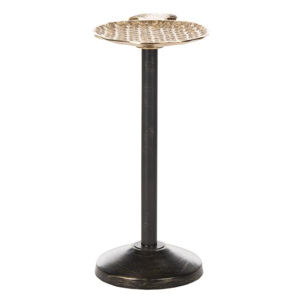 Safavieh Luana Pineapple Gold/Antique Gold End Table