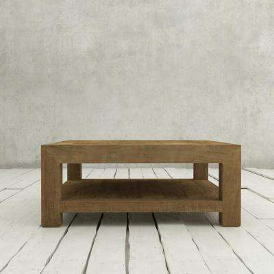 Villa 43 in. Natural coffee Table