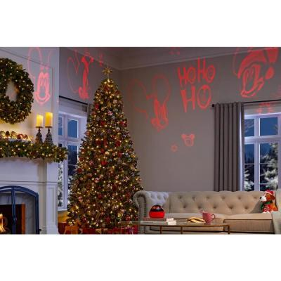 6.30 in. Christmas Tabletop Shadow Lights Mickey