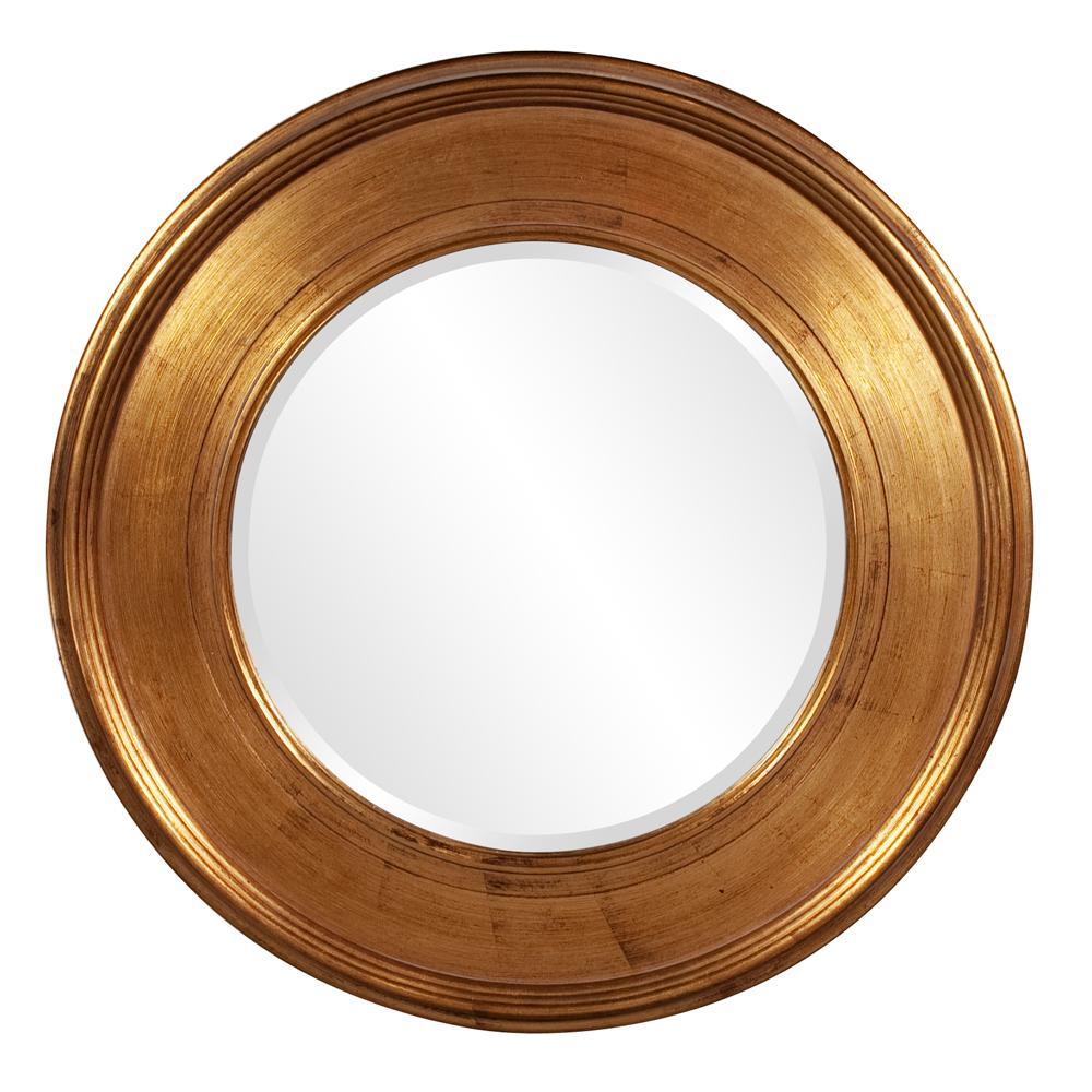 37 in. x 37 in. Valor Gold Mirror