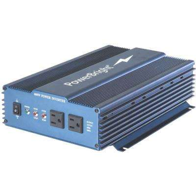 12-Volt DC to AC 600 Pure Sine Inverter