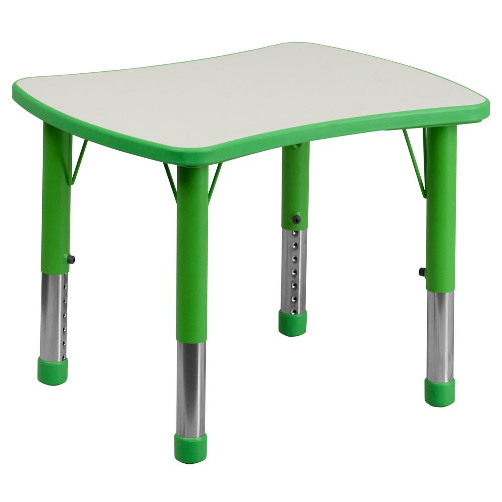 Green Kids Table