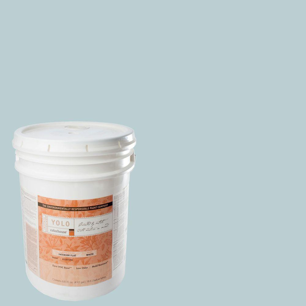 YOLO Colorhouse 5-gal. Water .03 Flat Interior Paint-DISCONTINUED