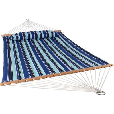 11-3/4 ft. Quilted Double Fabric 2-Person Hammock in Catalina Beach