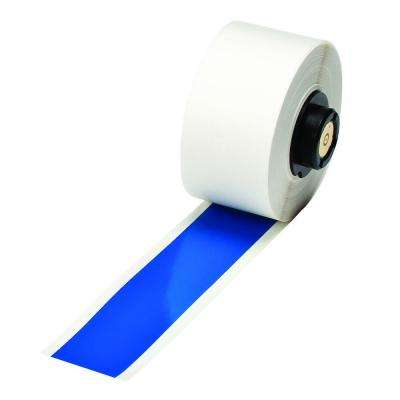 HandiMark B-595 Indoor/Outdoor Vinyl Film Blue 1 in. x 50 ft. Tape 1/Roll