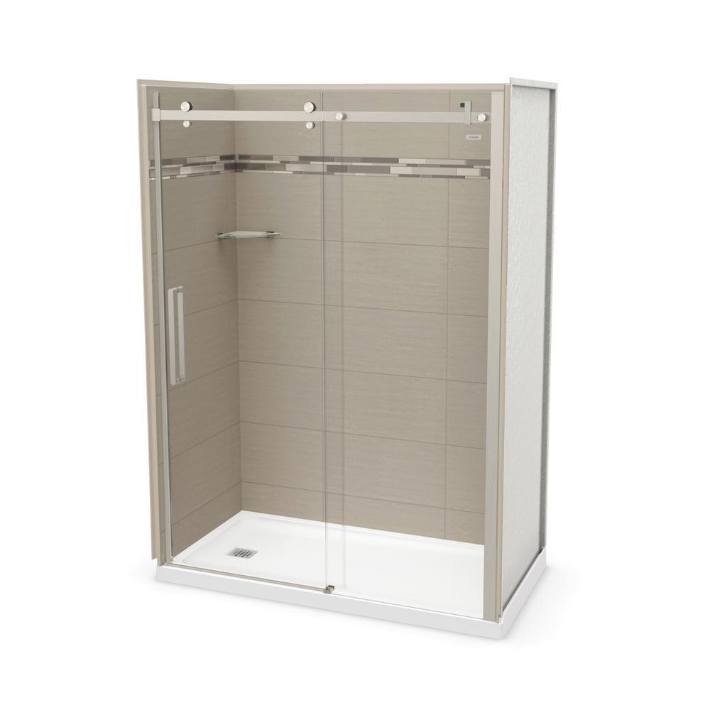 left hand alcove shower kit