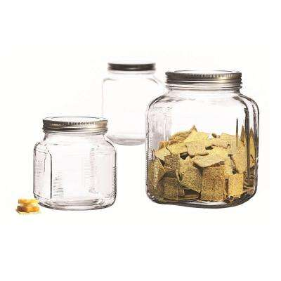 3-Piece Cracker Jar Set