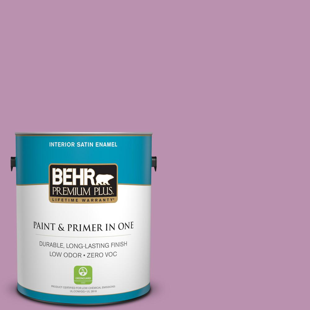 Home Decorators Collection 1-gal. #HDC-MD-10 Blooming Lilac Zero VOC Satin