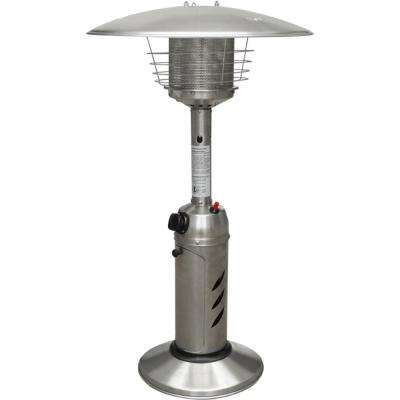 Mini Umbrella Tabletop 11,000 BTU Stainless Steel Propane Patio Heater