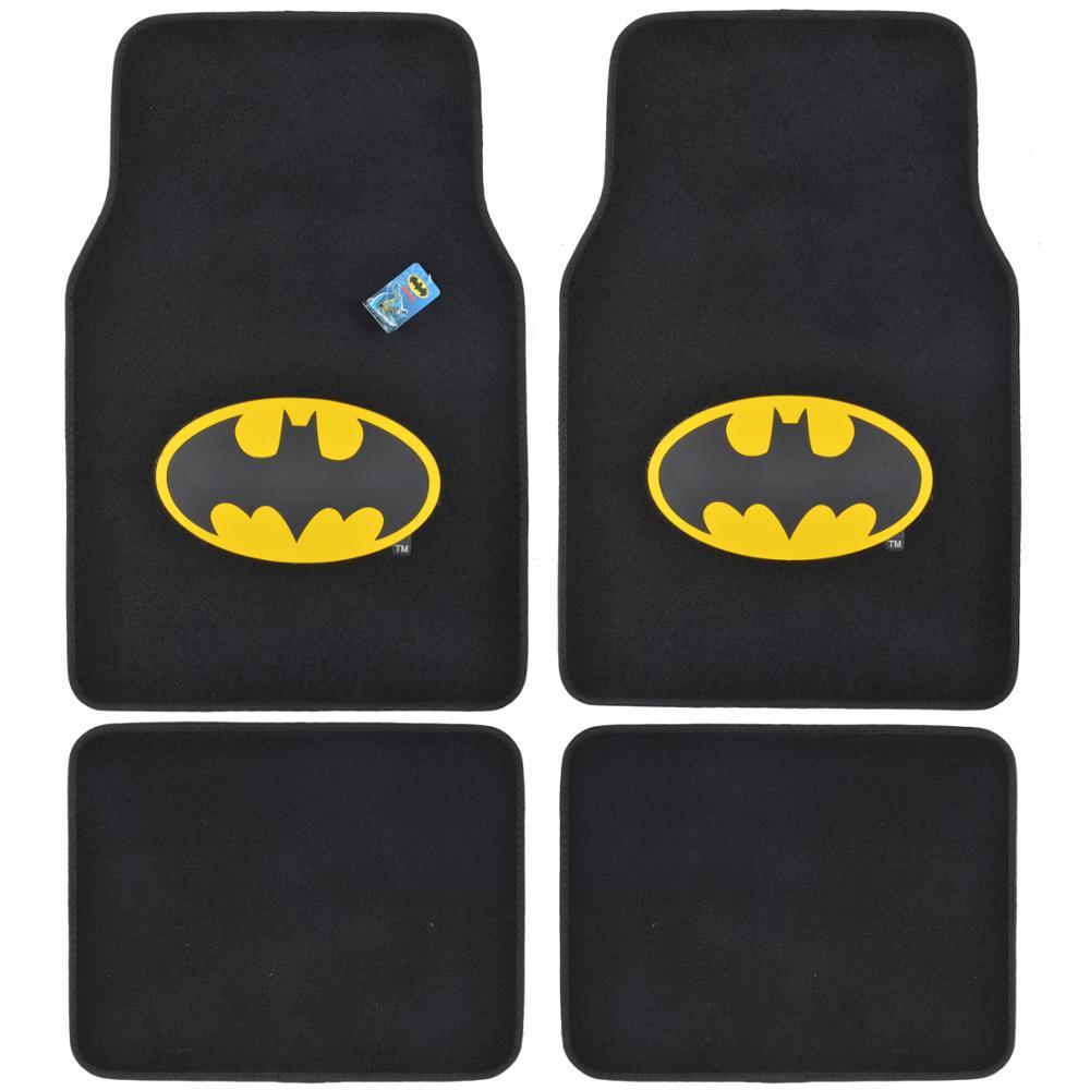 Original Batman Wbmt-1301 Carpet 4 Pieces Car Floor Mats,...