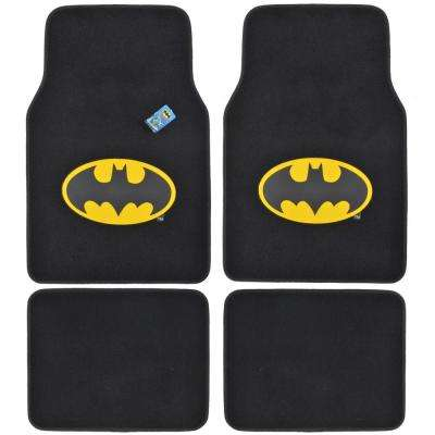 Original Batman WBMT-1301 Carpet 4 Pieces Car Floor Mats
