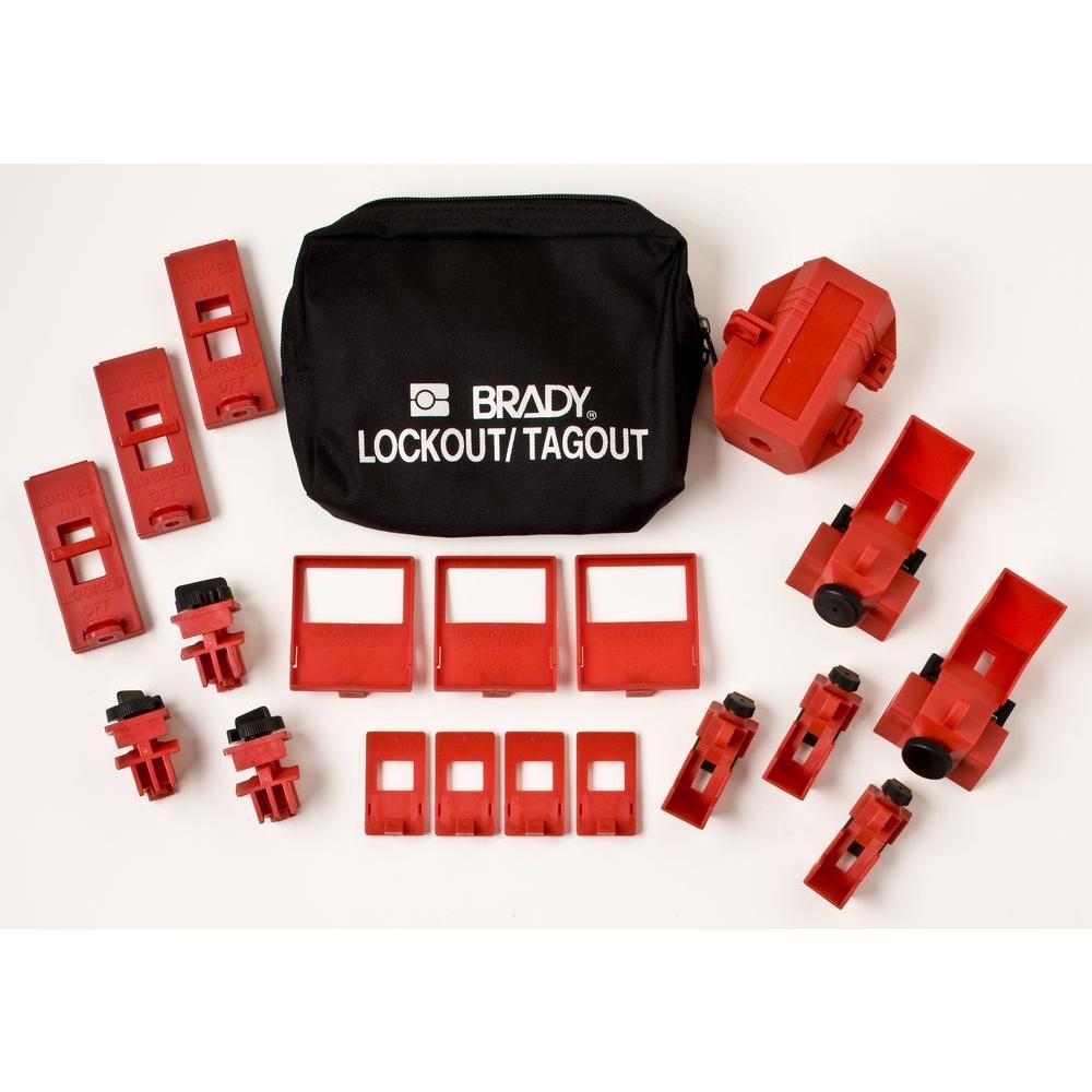 Brady Breaker Lockout Pouch Kit 65405 The Home Depot