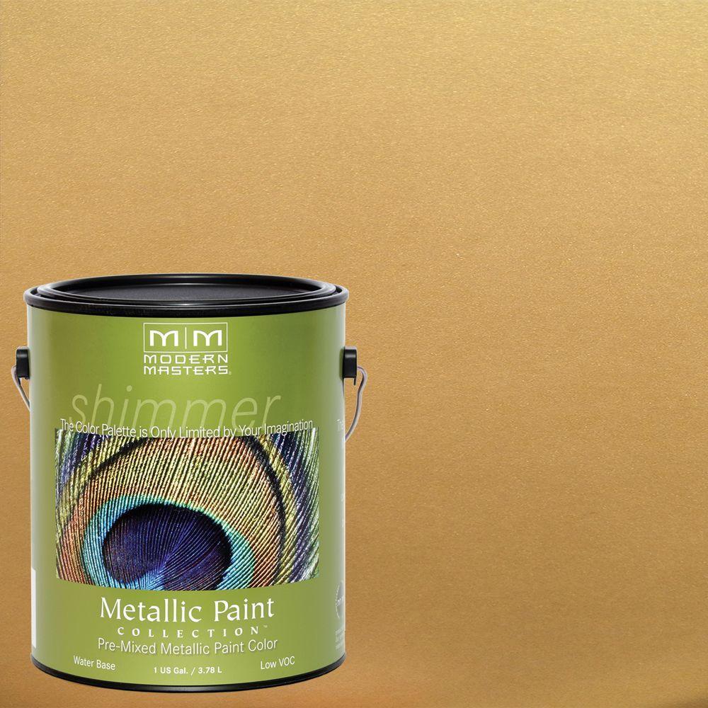 Great Pale Gold Metallic Interior/Exterior Paint
