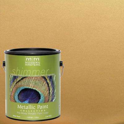 1 gal. Pale Gold Metallic Interior/Exterior Paint