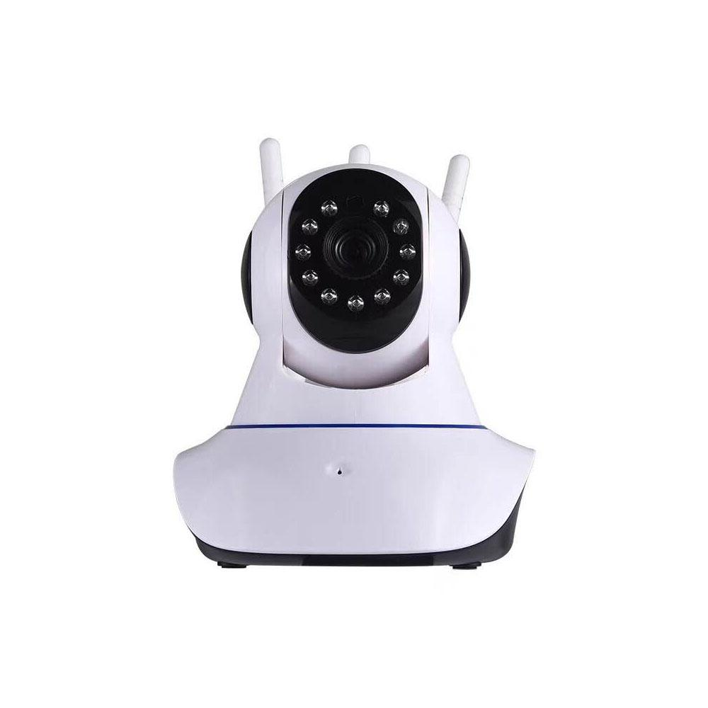 Tri-Antenna Wireless Indoor 2MP HD 1080p Wi-Fi IP Surveillance Camera with