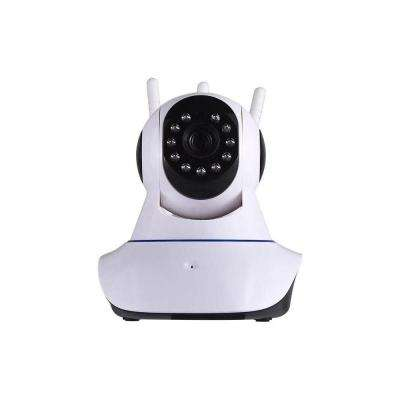 Tri-Antenna Wireless Indoor 2MP HD 1080p Wi-Fi IP Surveillance Camera with Pan/Tilt 2-Way Audio