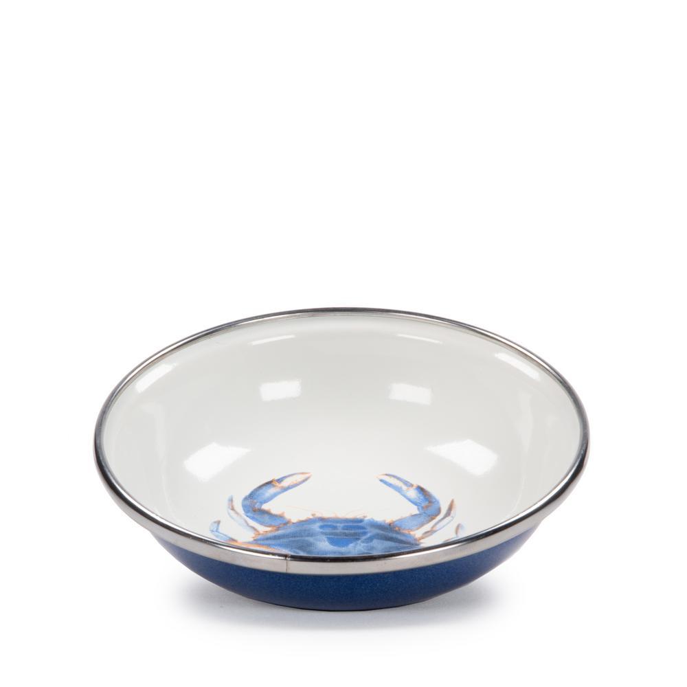 4 oz. Blue Crab Enamelware Tasting Dish