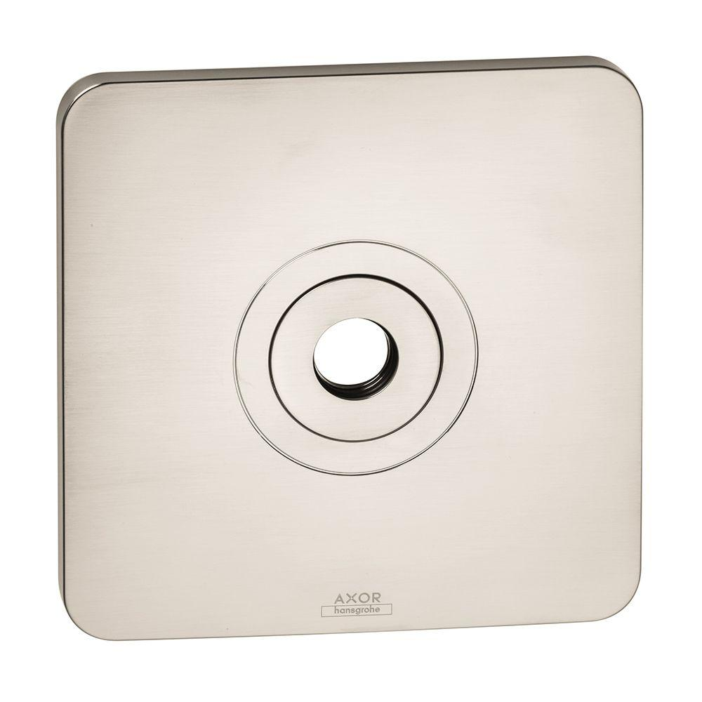 Hansgrohe Axor Citterio M Wall Plate in Brushed Nickel