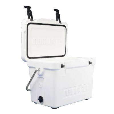 20 Qt. Cooler Cruiser in White
