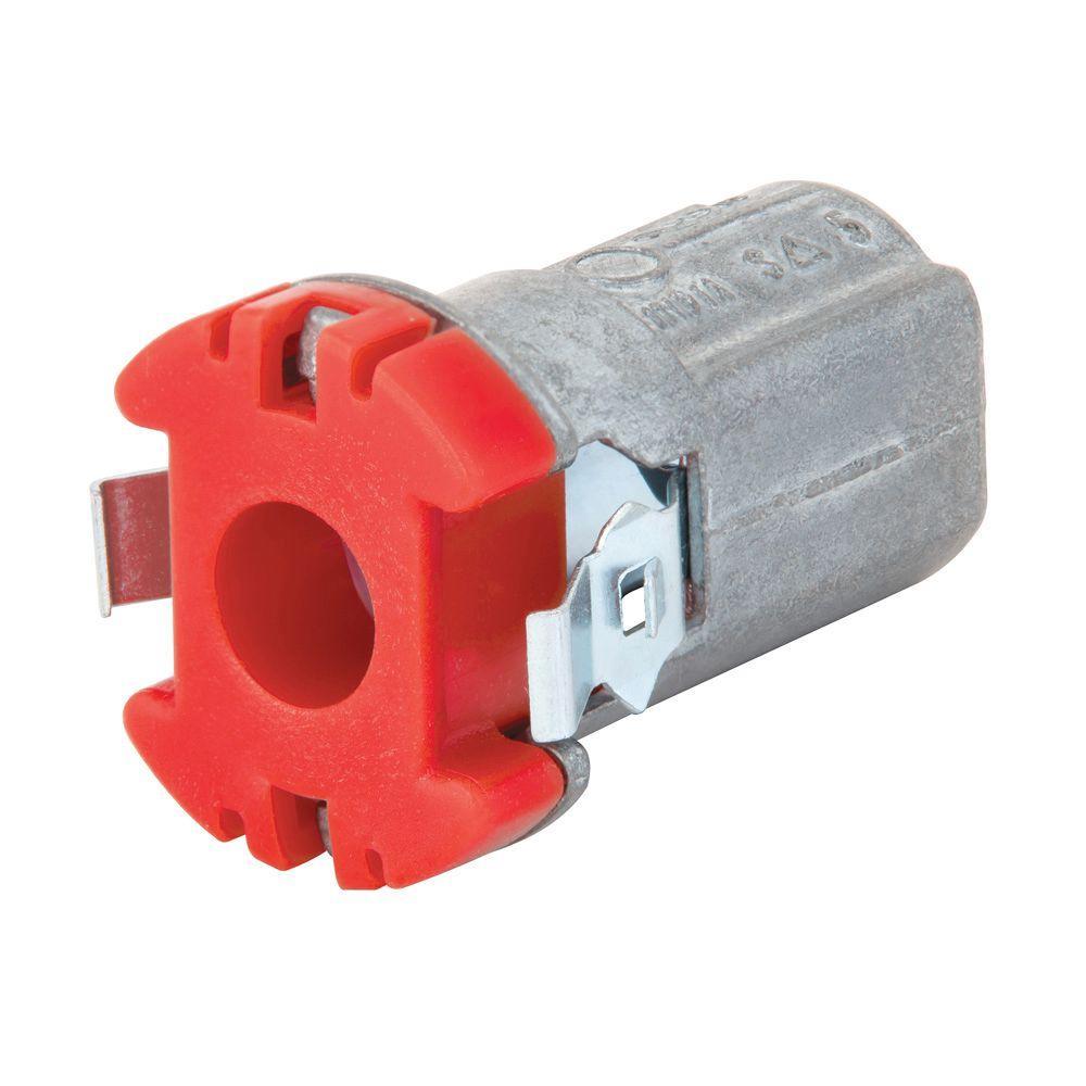 3/8 in. Cut-In Snap Lock MC/AC Box Connector (25-Pack)