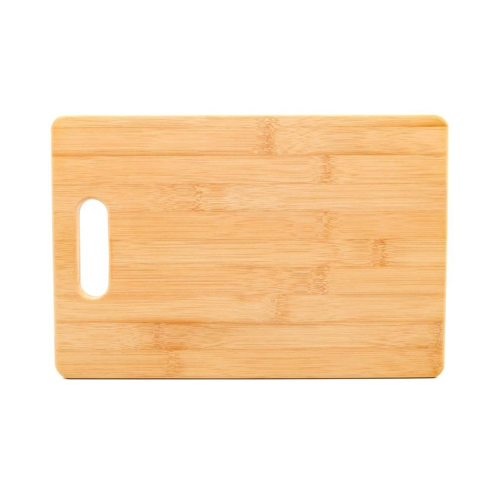 7-7/8 in. x 11-13/16 in. x 1/2 in. Bamboo Cutting Board