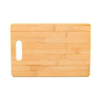 7-7/8 in. x 11-13/16 in. x 1/2 in. Bamboo Cutting Board with Handle