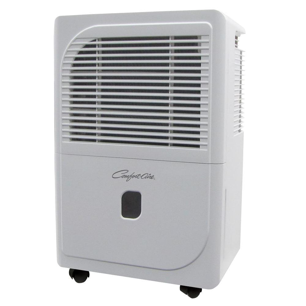 70 Pt. Portable Dehumidifier in White