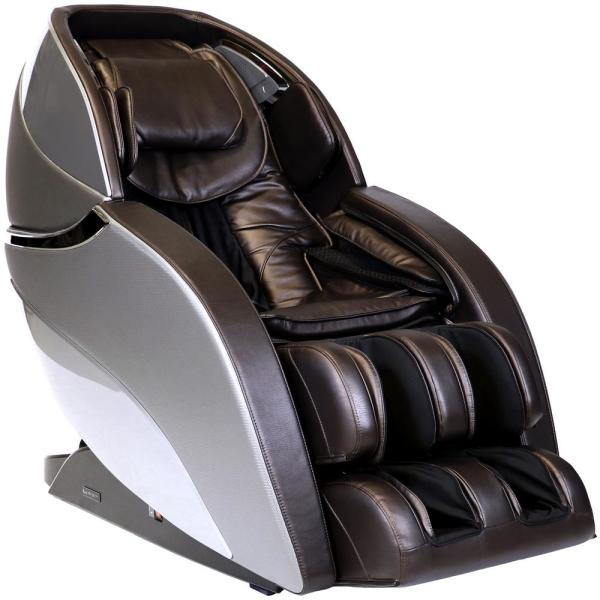 Infinity Infinity Genesis Brown 3D Massage Chair with Zero Wall Technology