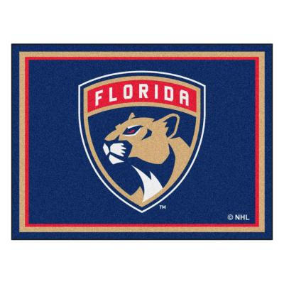 NHL Florida Panthers Navy Blue 8 ft. x 10 ft. Indoor Area Rug
