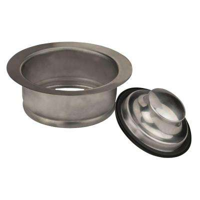 Disposal Rim and Stopper in Stainless Steel