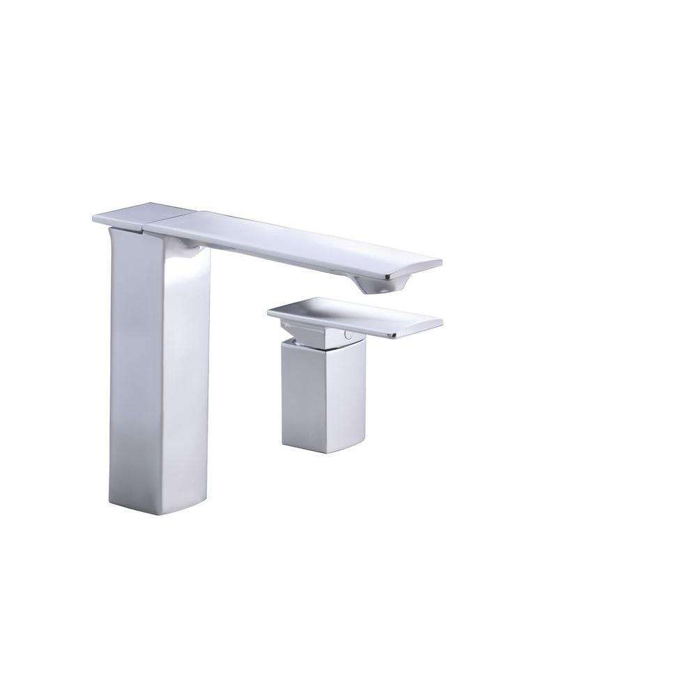 KOHLER Stance Single Handle Bath or Deck Mount Faucet in Vibrant Brushed Nickel