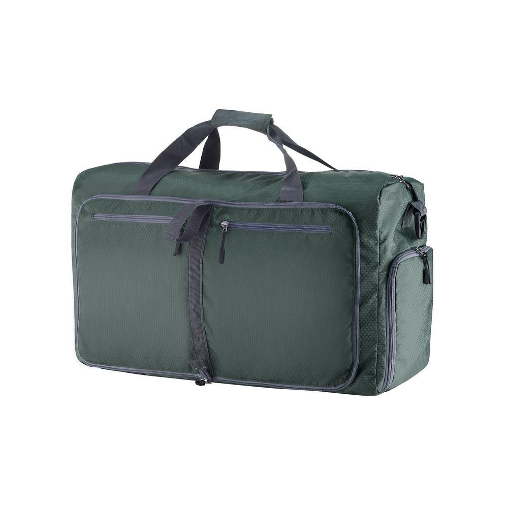 Wakeman 14.5 in. Green Folding Overnight Duffel Bag-HW9990001 - The ... a711460aaf