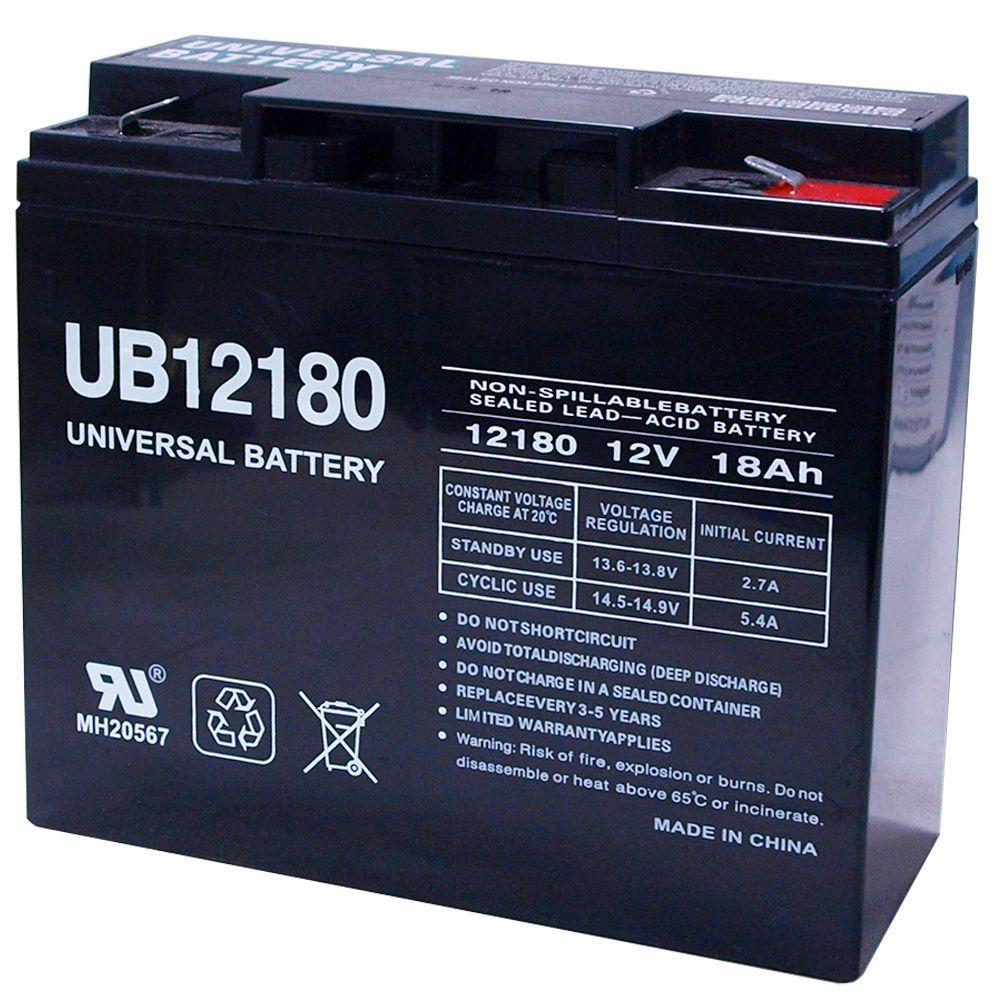 SLA 12-Volt 18 Ah F2 Terminal Battery