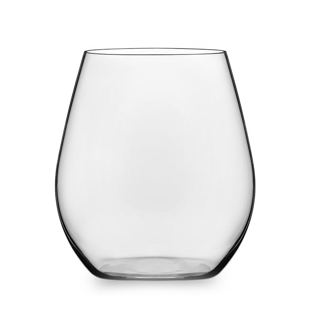 Signature Kentfield 4-Piece Stemless Red Wine Glass Set