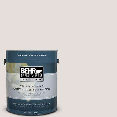 Home Decorators Collection 1 gal. #HDC-CT-17 Pale Starlet Satin Enamel Interior Paint and Primer in One
