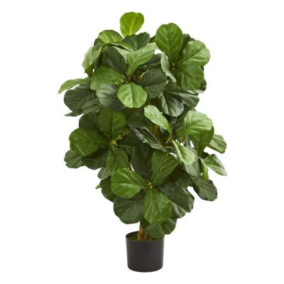Indoor 3.5 ft. Fiddle Leaf Artificial Tree
