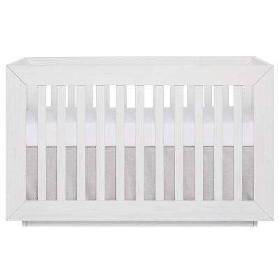 Maddox Modern Weathered White Convertible Crib