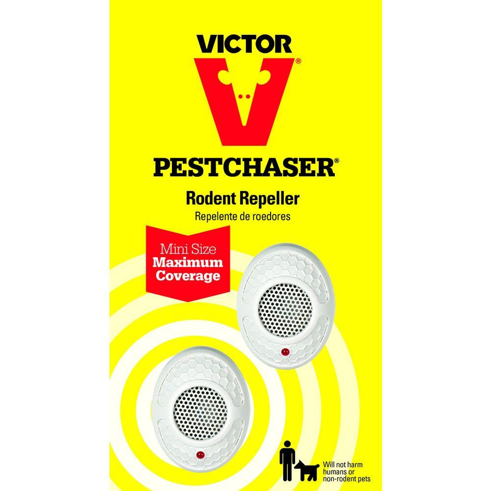 Victor Mini PestChaser UltrasSonic Rodent Repellent (2-Pack)
