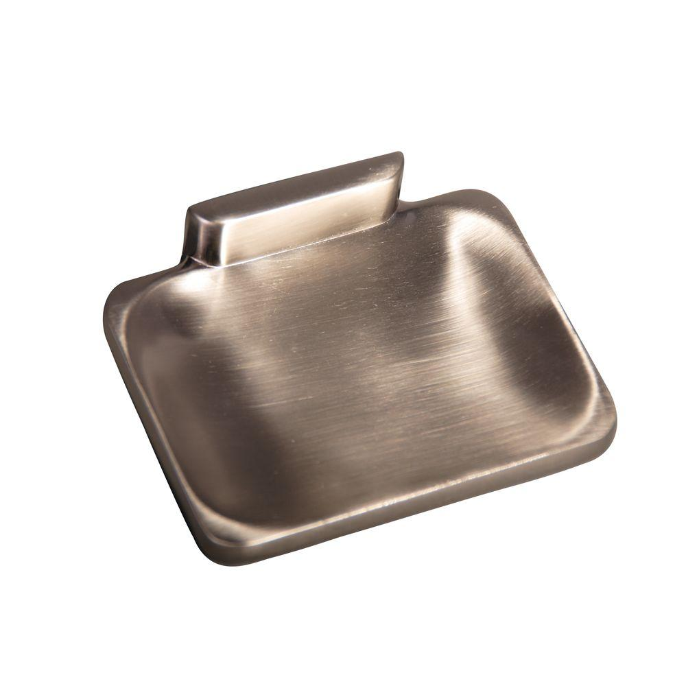 Barclay Products Hennessey Soap Dish in Satin Nickel