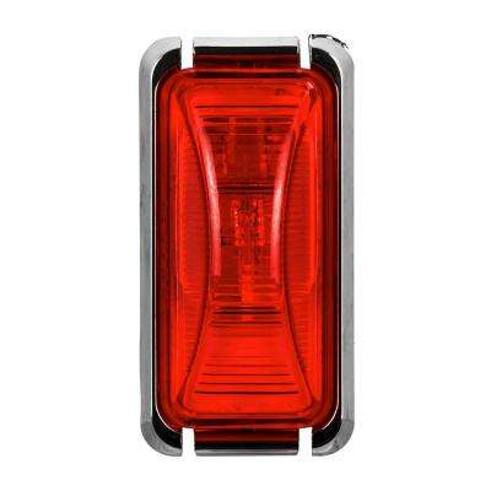 Clearance 2-7/8 in. Mini Rectangular Lamp Red
