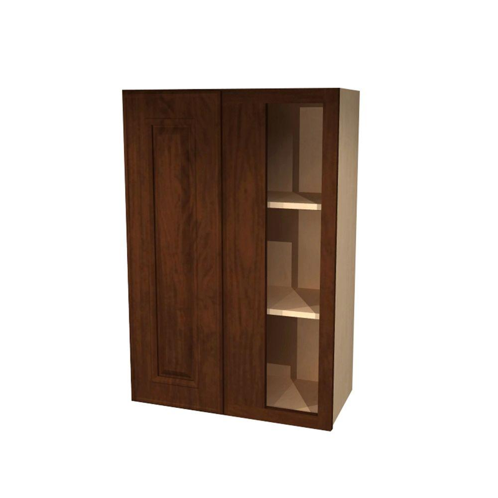 Home decorators collection roxbury assembled 24x30x12 in for Single kitchen cupboard