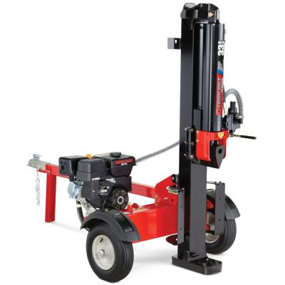 33-Ton 272 cc Gas Hydraulic Log Splitter with Vertical or Horizontal Operational Options